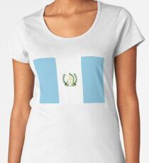 Guatemalan Flag- Show your love for Guatemala! Women's Premium T-Shirt