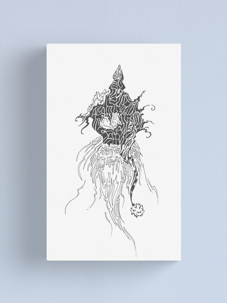Alternate view of king Canvas Print