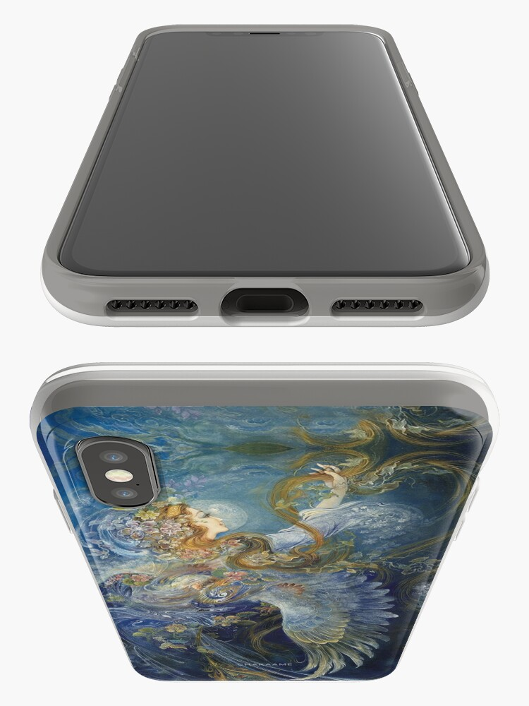 Alternate view of Persian Miniature - F232 iPhone Case & Cover