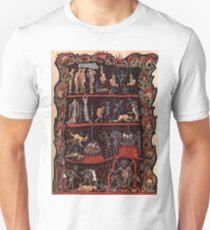 The Hell - Hortus Deliciarum Herrad von Landsberg Unisex T-Shirt