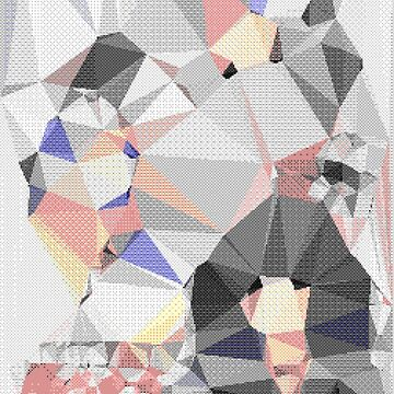 8bit abstract triangles by findingNull