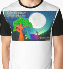 Dinosaur Tree House, The Book of Yawns, Adventure 8 moon Graphic T-Shirt