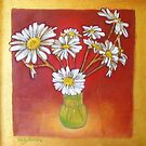 July Daisies by sally seabright