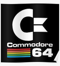 Commodore 64 Logo Poster
