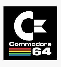 Commodore 64 Logo Photographic Print