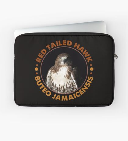 Beautiful Red Tailed Hawk Portrait for Falconers and Bird Watchers Laptop Sleeve