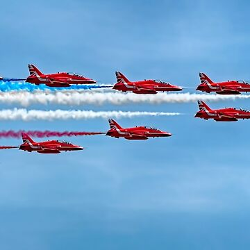 Red Arrows Precision 2018 by SWEEPER