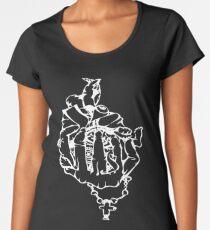 Rosary in Hand Women's Premium T-Shirt