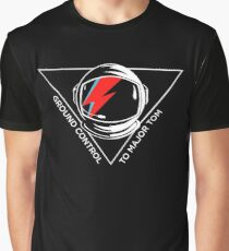 Tribute to David Bowie Graphic T-Shirt
