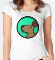 best dog in the MARKET Women's Fitted Scoop T-Shirt