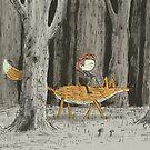 Boy & Fox by Alex G Griffiths