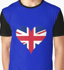 British heart Graphic T-Shirt