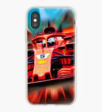 Sebastian Vettel feat. Loria iPhone Case
