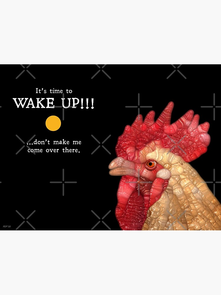 Rooster In The Morning by perkinsdesigns