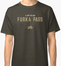 Furka Pass Motorcycle T-Shirt Classic T-Shirt