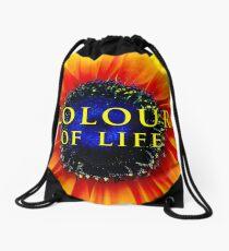 Colour of Life [cover image] Drawstring Bag