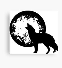 Howling Wolf Moon Canvas Print
