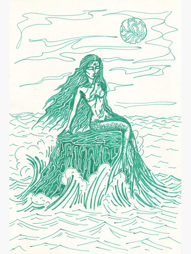 mermaid by Anthropolog