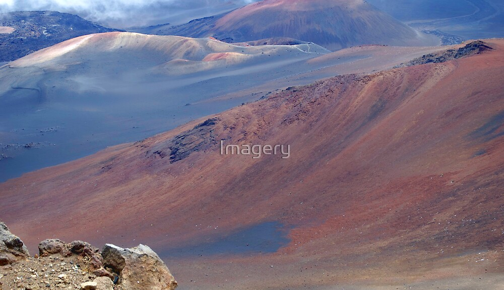 Haleakala Crater by Imagery