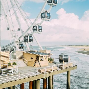 Scheveningen Ferris Wheel by PatiDesigns