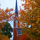 St. Mary's in Autumn by Colleen Drew