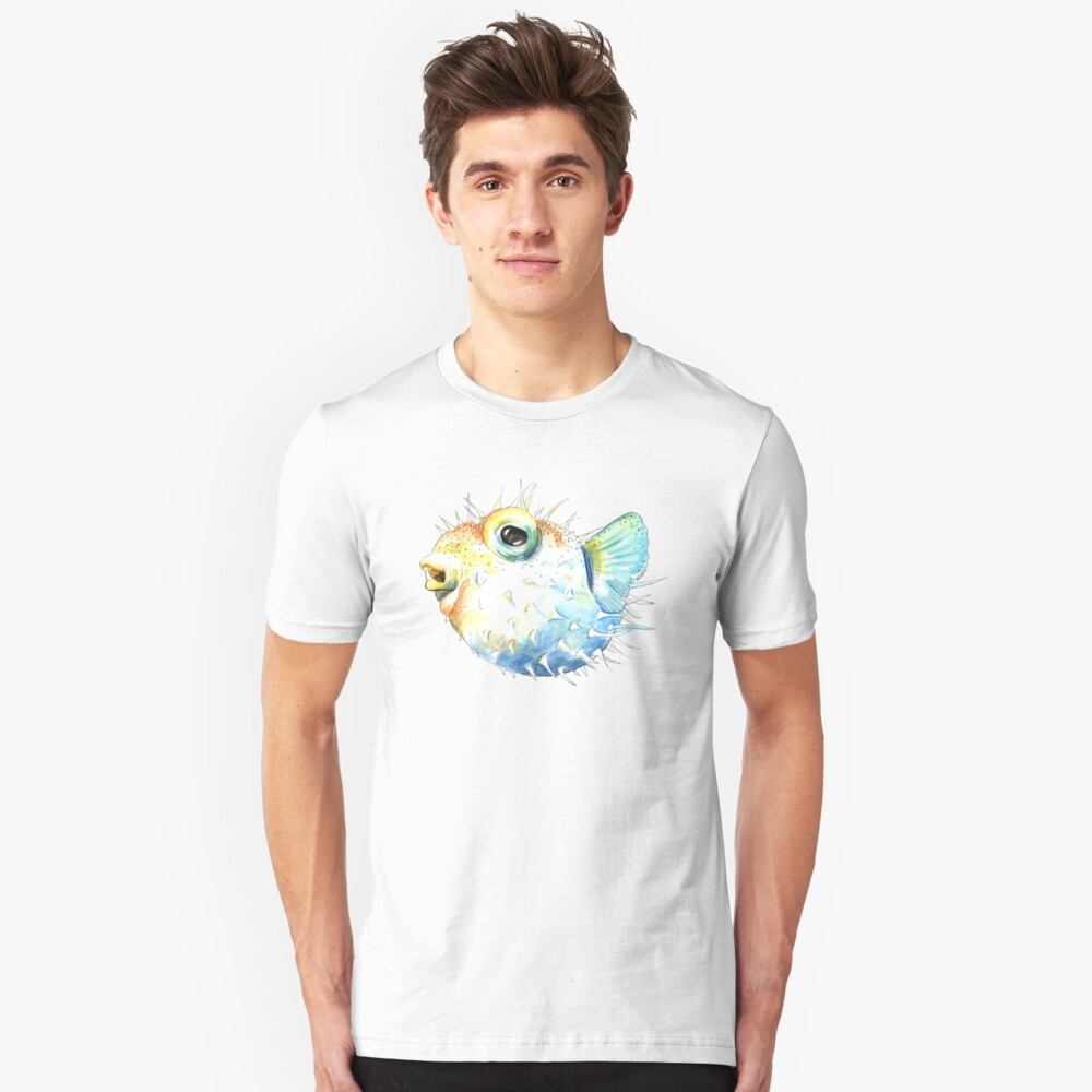 Pufferfish - Puffed Up Slim Fit T-Shirt