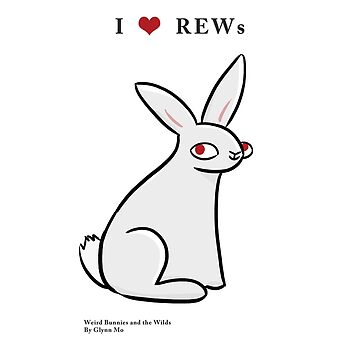 I LOVE REW (RED EYED WHITE) BUNNIES! by WeirdBunnies