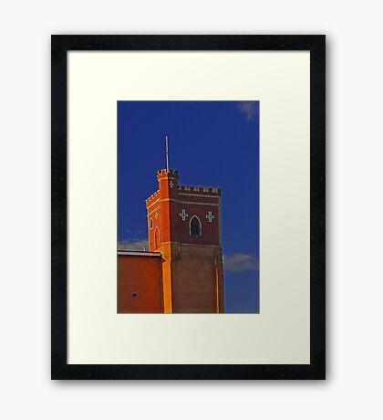 Lathlain Red Castle - Western Australia  Framed Print