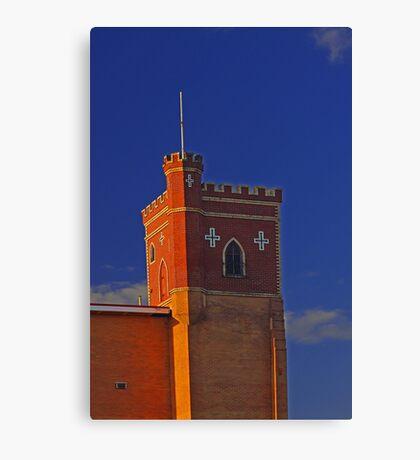 Lathlain Red Castle - Western Australia  Canvas Print
