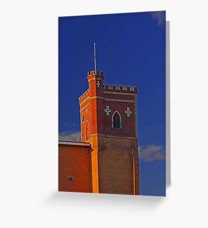 Lathlain Red Castle - Western Australia  Greeting Card
