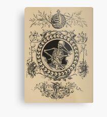 1861 Death Skeleton  Metal Print
