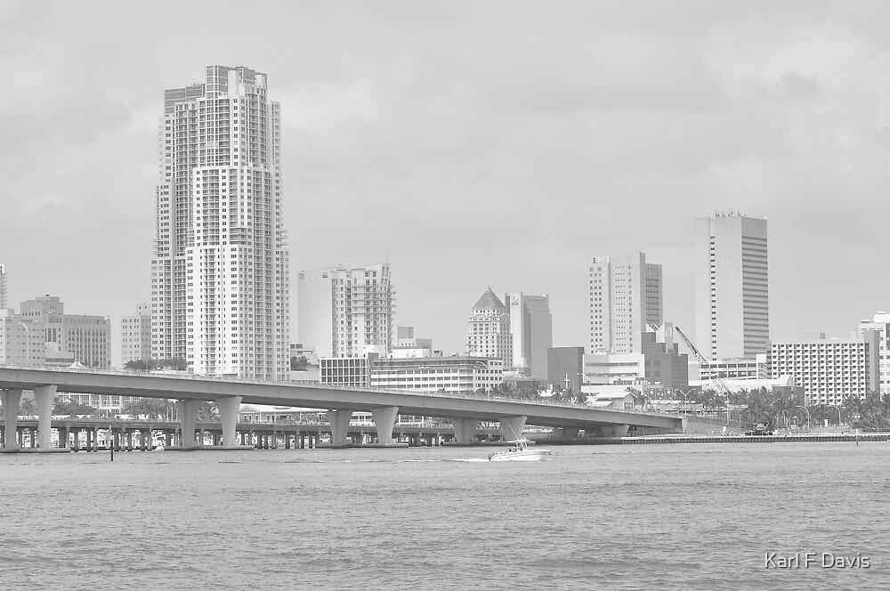 Miami by Karl F Davis