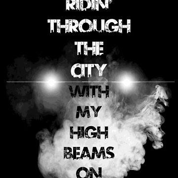 Ridin' Through The City by Flash-Jordan