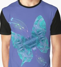 Positive Vibes On Butterfly Wings Graphic T-Shirt