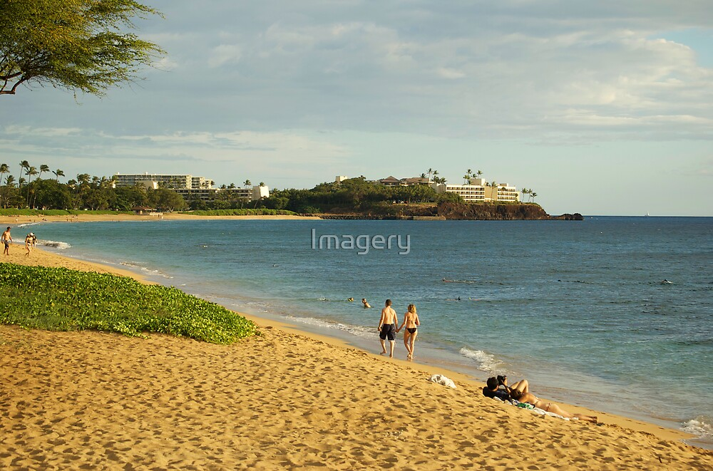 Kaanapali Beach by Imagery