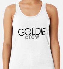 GOLDIE magazine crew T shirt Racerback Tank Top