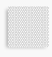 Rings Pattern Design Canvas Print
