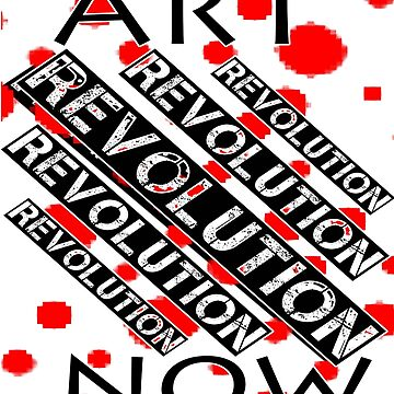 ART NOW REVOLUTION SPRAYPAINT by CradoxCreative