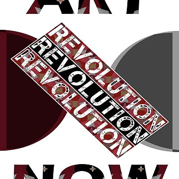 ART NOW REVOLUTION CAMO by CradoxCreative