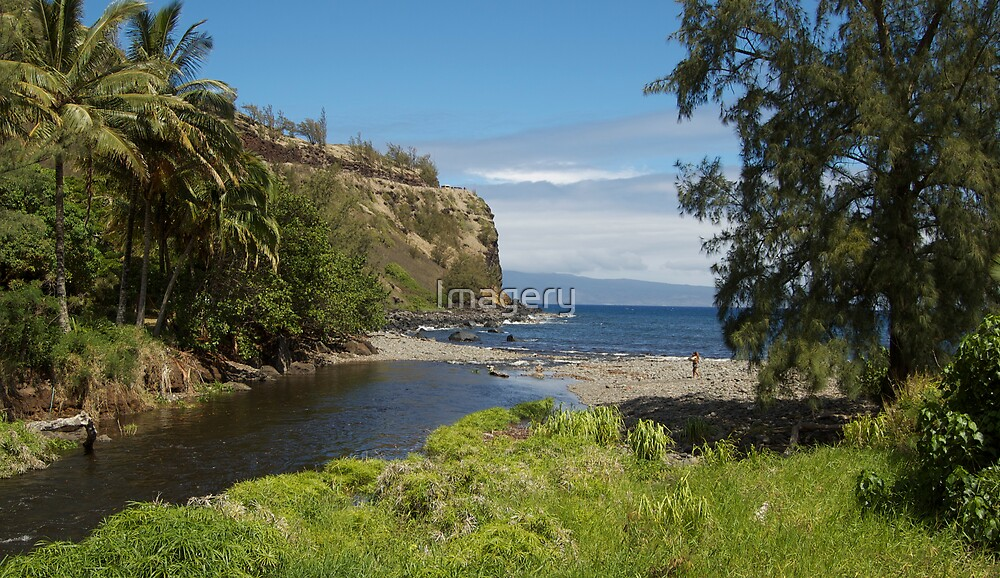 Honokohau Bay by Imagery