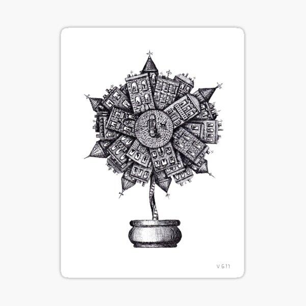 Livable Flower  Sticker