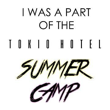 Tokio Hotel Summer Camp (black) by eileendiaries