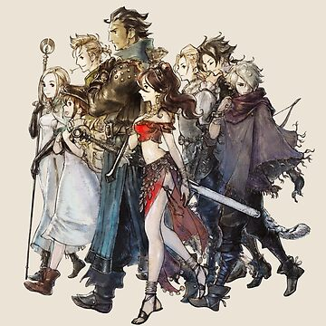 Octopath Traveler® - Travelers by SWISH-Design