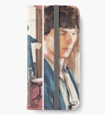 221B, Sherlock and the violin iPhone Wallet/Case/Skin