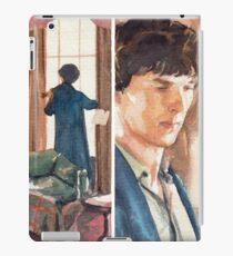 221B, Sherlock and the violin iPad Case/Skin