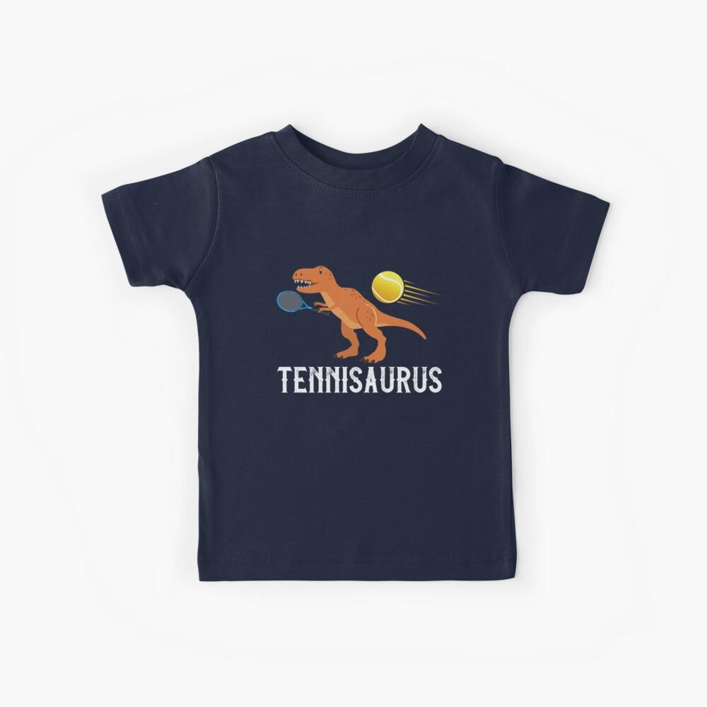 Tenis Dino Saurus Funny Dino Camiseta para niños