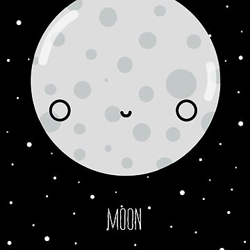 The Moon  by DIKittyPants