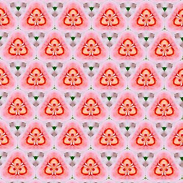 Candy floss triangle pattern by BBrightman
