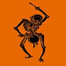 Halloween Fun Skeleton Marching Band Drummer by taiche