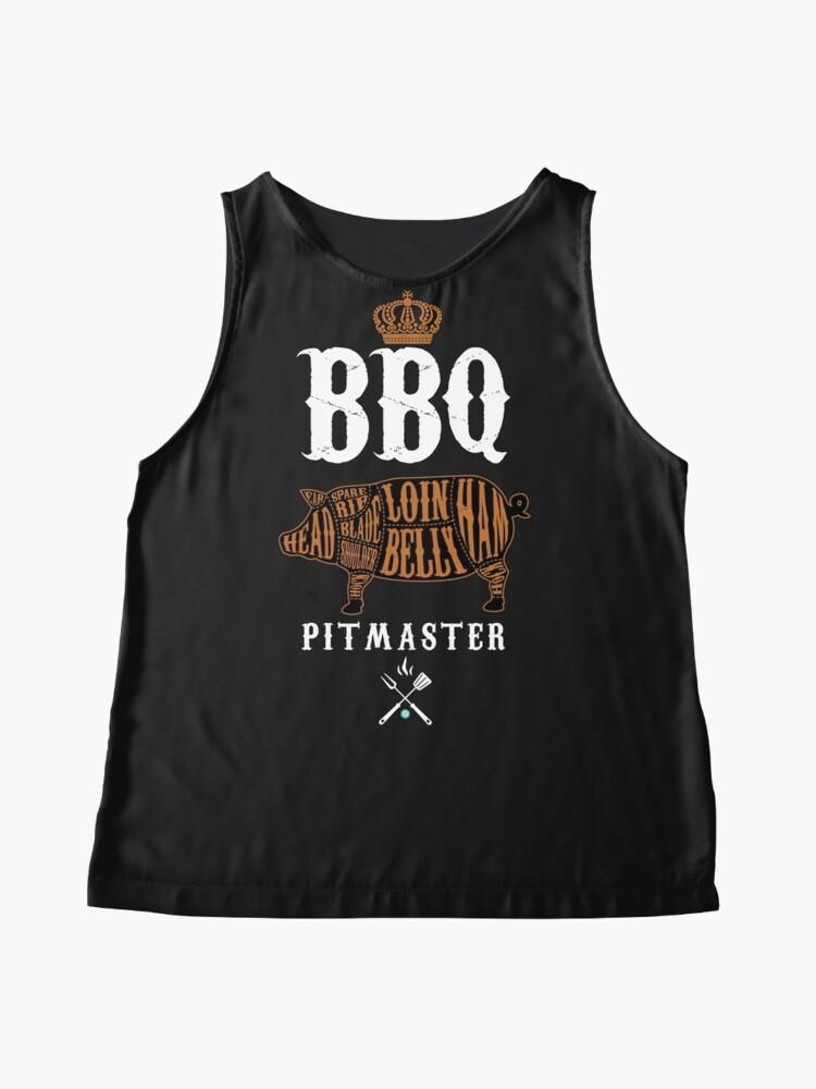 Alternate view of BBQ Pitmaster Shirt Sleeveless Top